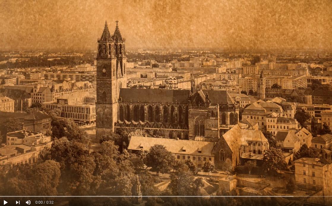 Luftbilder Dom Magdeburg