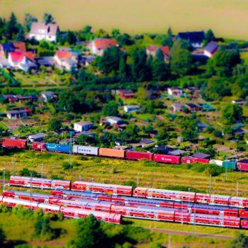Luftbild-Eisenbahn-Magdebur