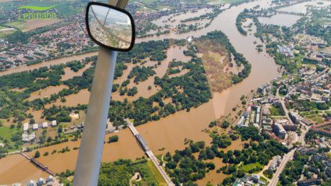 Hochwasser 2013 Luftbilder