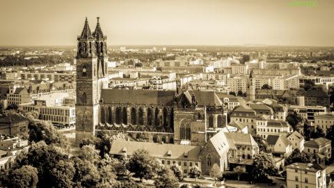 Der Magdeburger Dom – Bilder mit Drohne