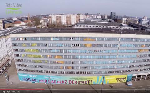 Der Blaue Bock aus der Luft mit Drohne gefilmt