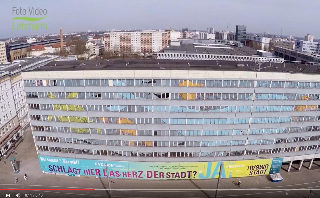 Der Blaue Bock mit Drohne gefilmt